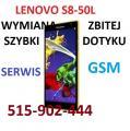 Lenovo S8-50L, Lenovo A8-50 wymiana szybki dotyku